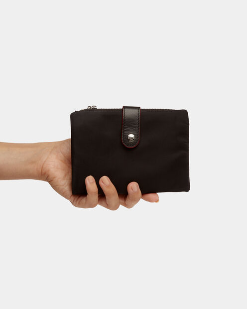 Ingrid Wallet in color Black Moto