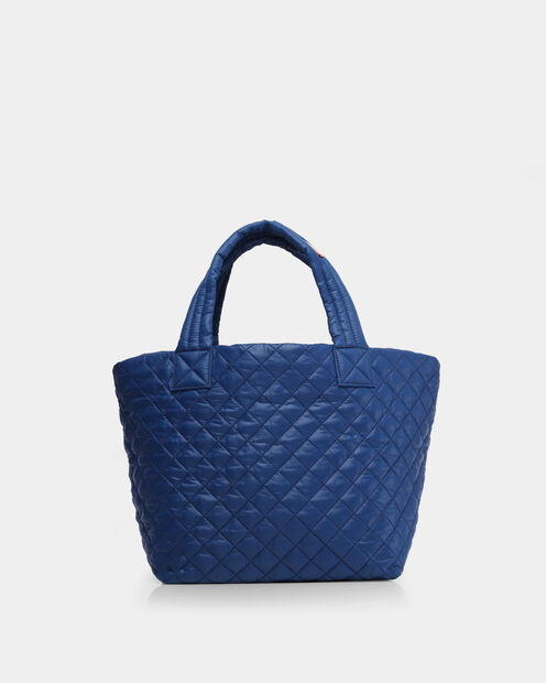 Estate Blue Oxford Small Metro Tote (3701371) in color Estate Blue
