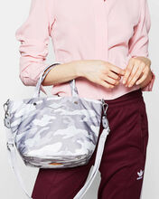 Light Grey Camo Mini Soho Tote