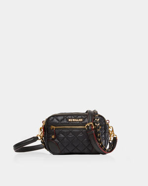 Black with Gold Hardware Mini Crosby (11291498)
