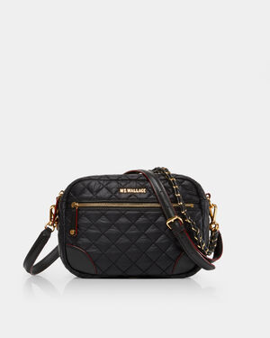 Black with Gold Hardware Small Crosby (10061498)