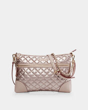 Rose Gold Metallic Medium Crosby Crossbody