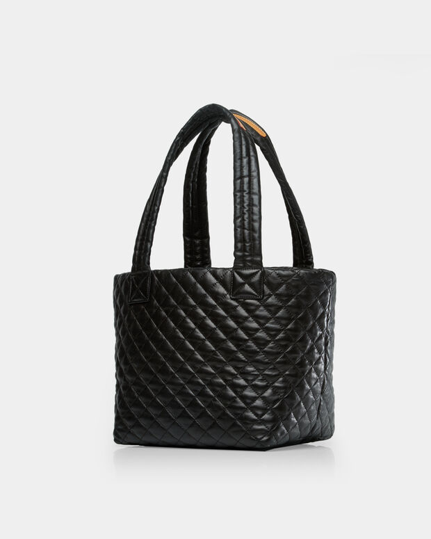 Small Metro Tote - Black Quilted Leather (3701153)
