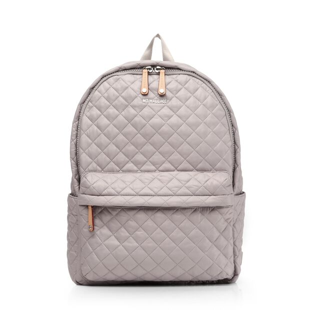 Metro Backpack in color Gull Grey
