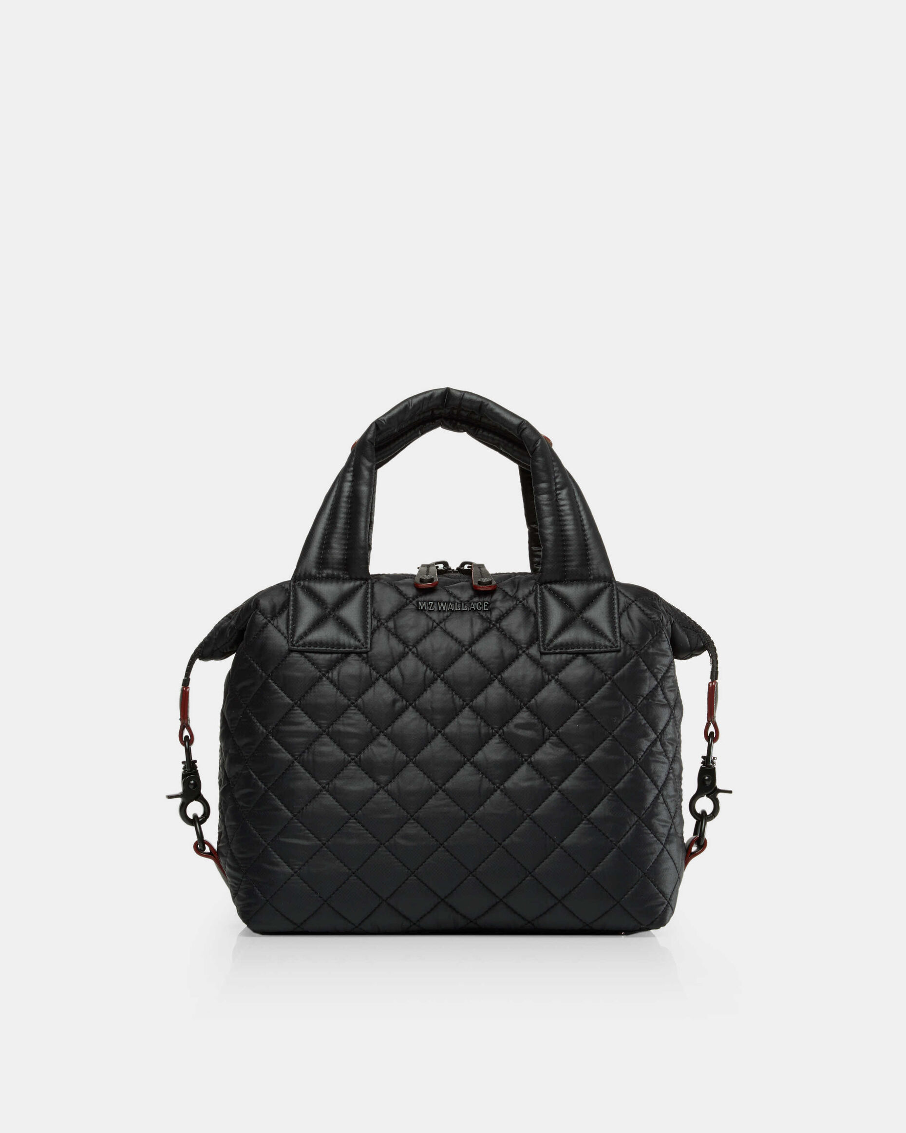 Black Quilted Oxford Nylon Small Sutton (2880108)