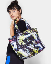Graffiti Print Medium Metro Tote