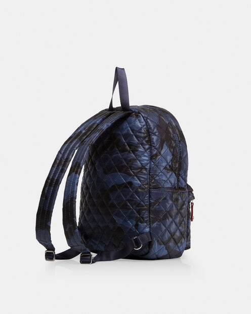 Small Metro Backpack - Dark Blue Camo Oxford (5841311) in color Dark Blue Camo