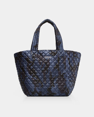 Medium Metro Tote - Dark Blue Camo Oxford (3761311)