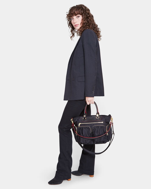 Black Bedford Small Abbey Tote (5920089) in color Black