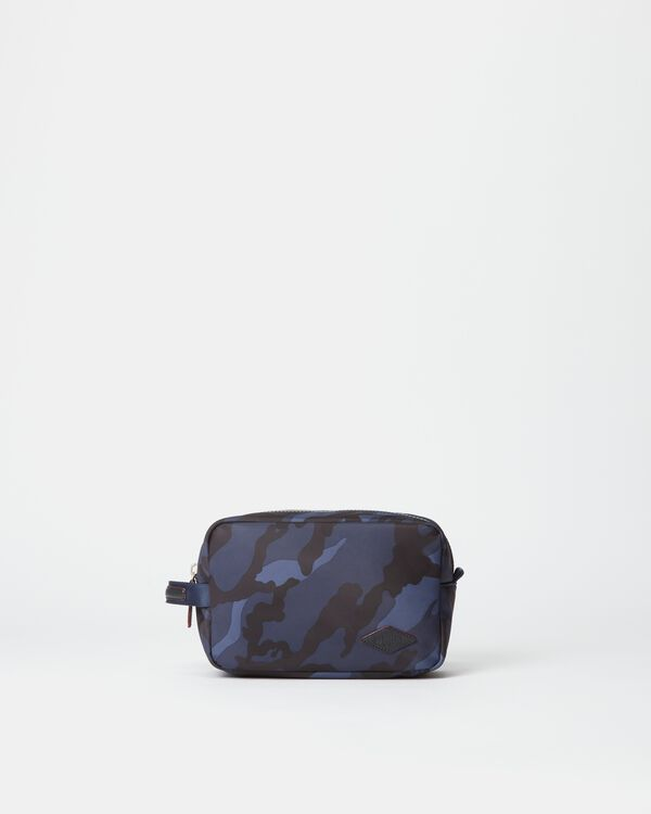 Dark Blue Camo Air Bleecker Dopp Kit