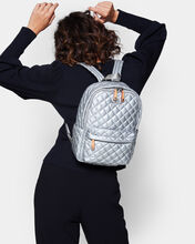Tin Metallic Small Metro Backpack