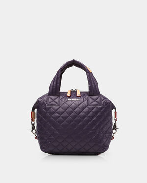 Small Sutton - Amethyst Quilted Oxford (2881310)