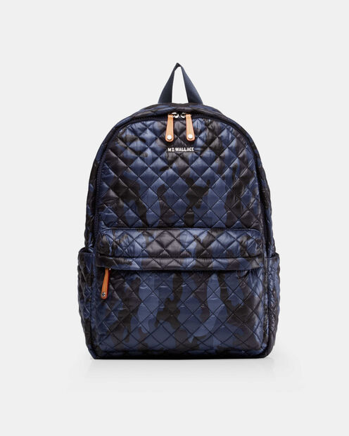 Metro Backpack in color Dark Blue Camo