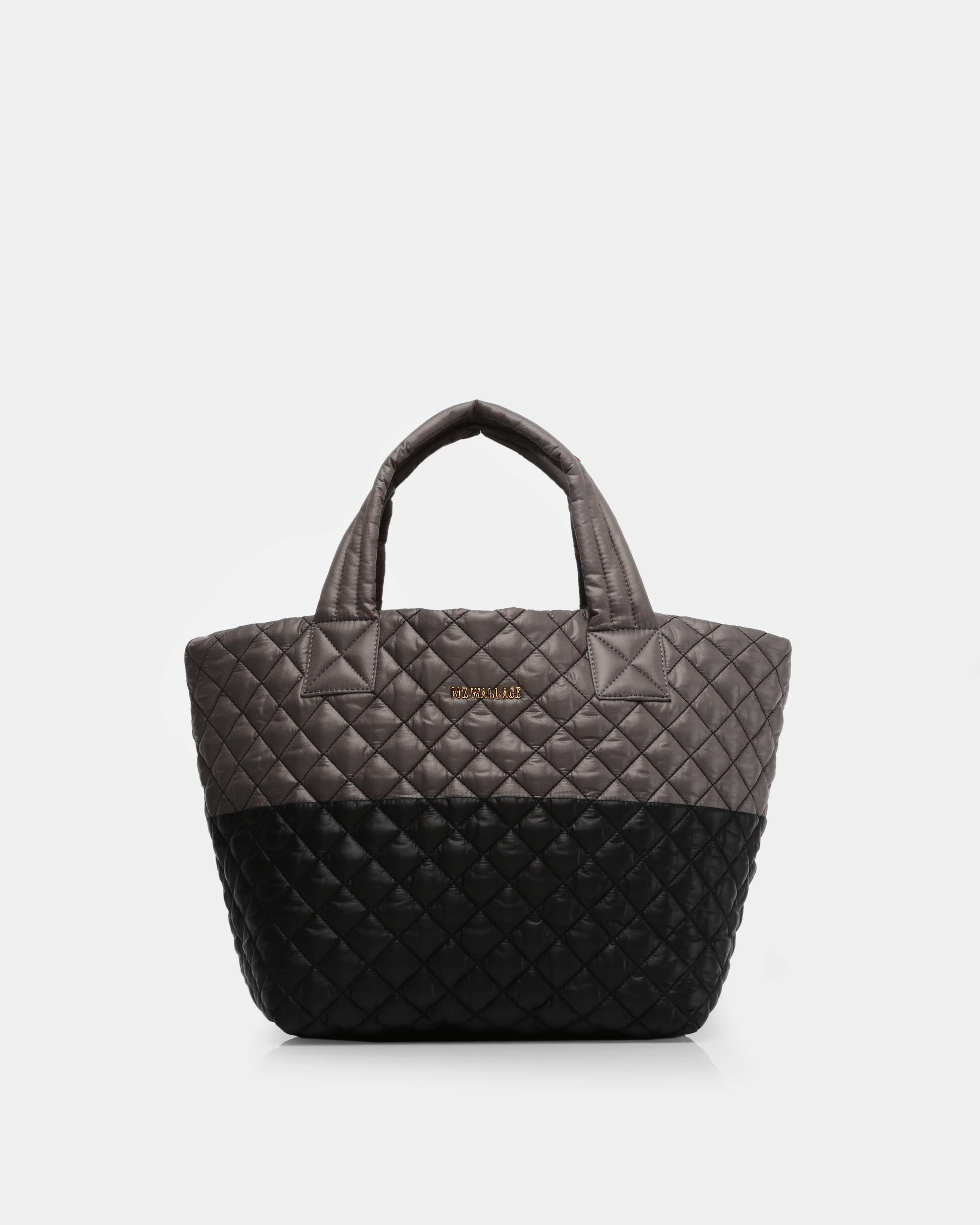 Black/Magnet Oxford Small Metro Tote (3701329) in color Black & Magnet