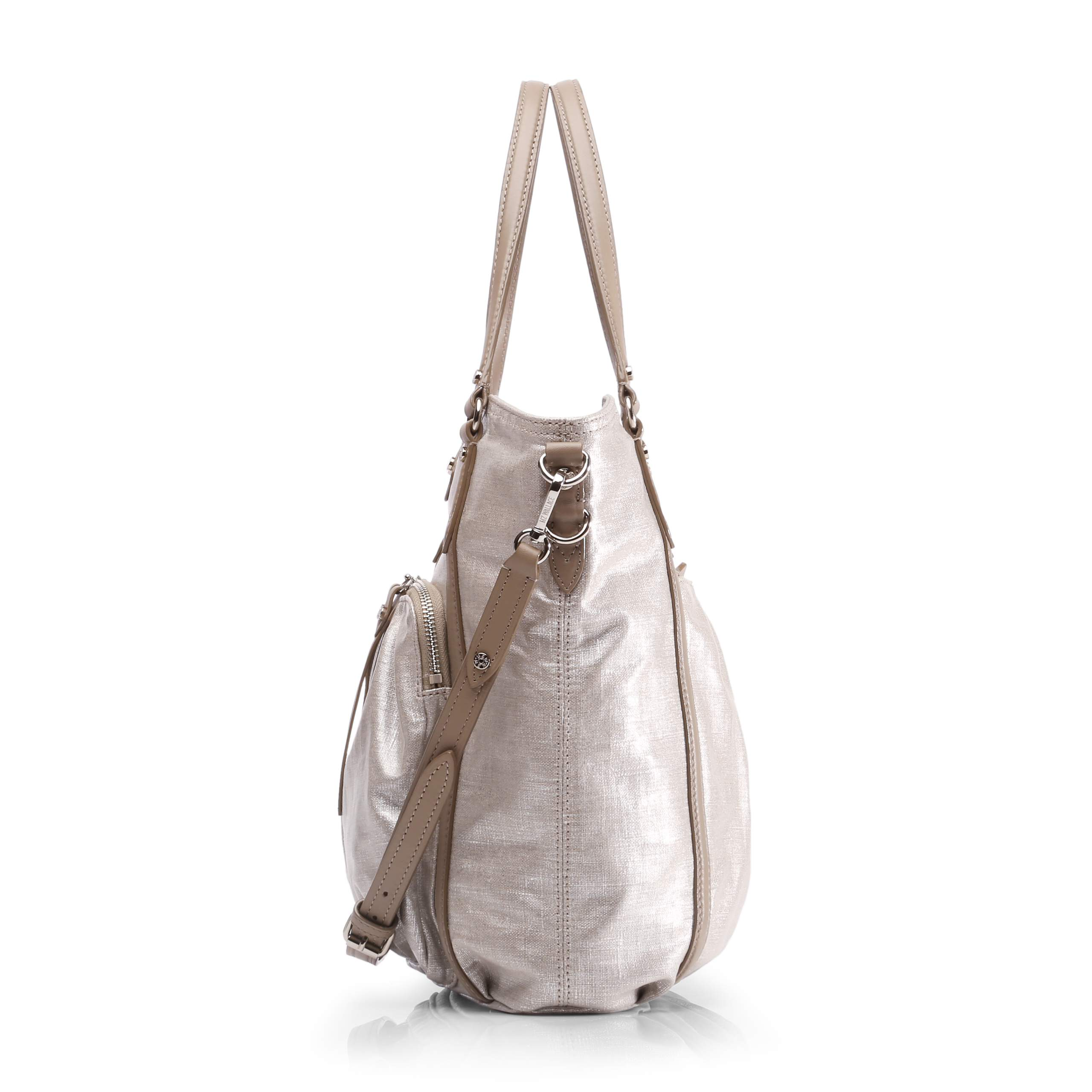 Glazed Linen Nikki Tote (1480773) in color Glazed Linen