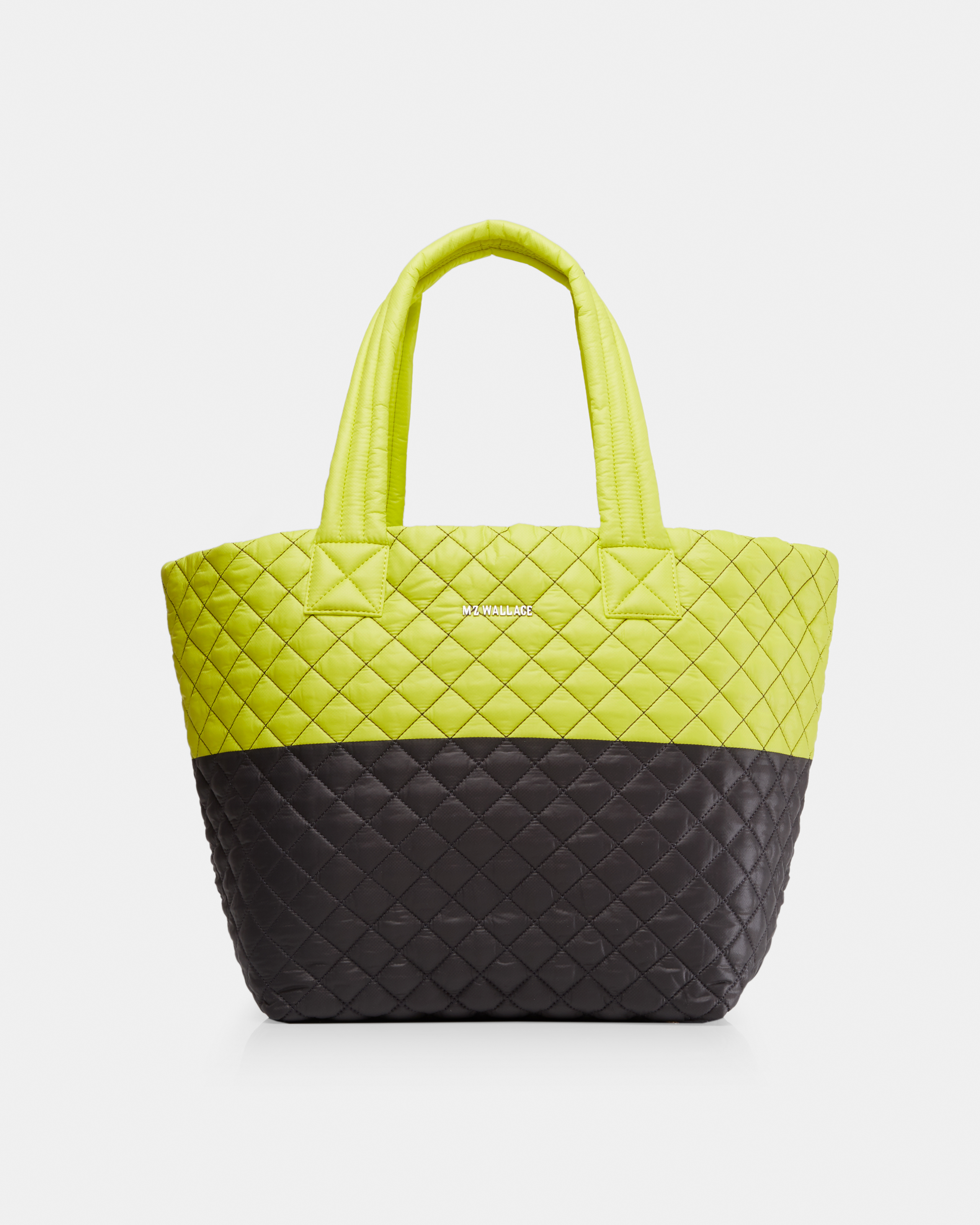 Neon Yellow/Magnet Oxford Metro Tote (3761370) in color Neon Yellow & Magnet