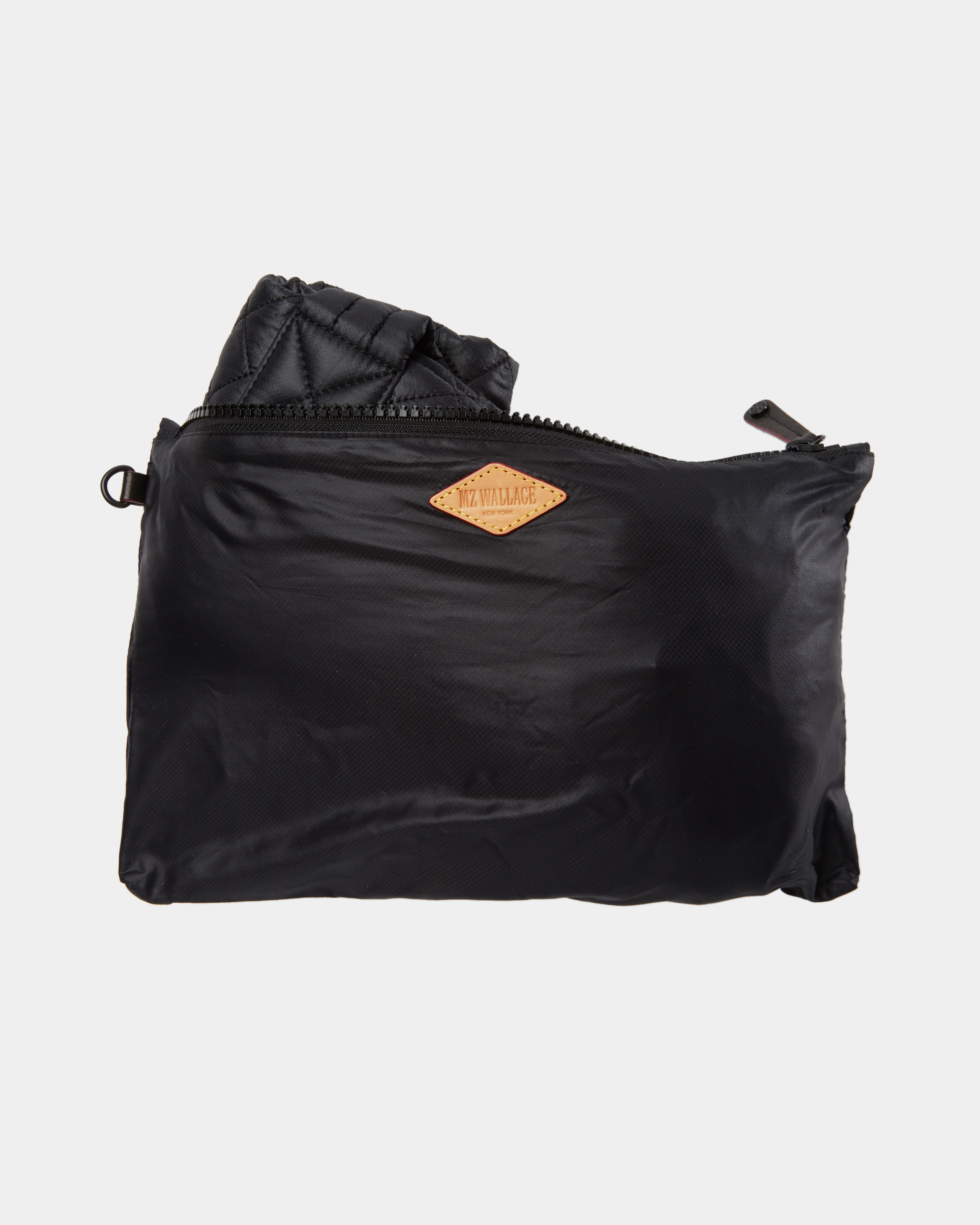 Small Metro Tote - Black Quilted Oxford Nylon (3700108) in color Black