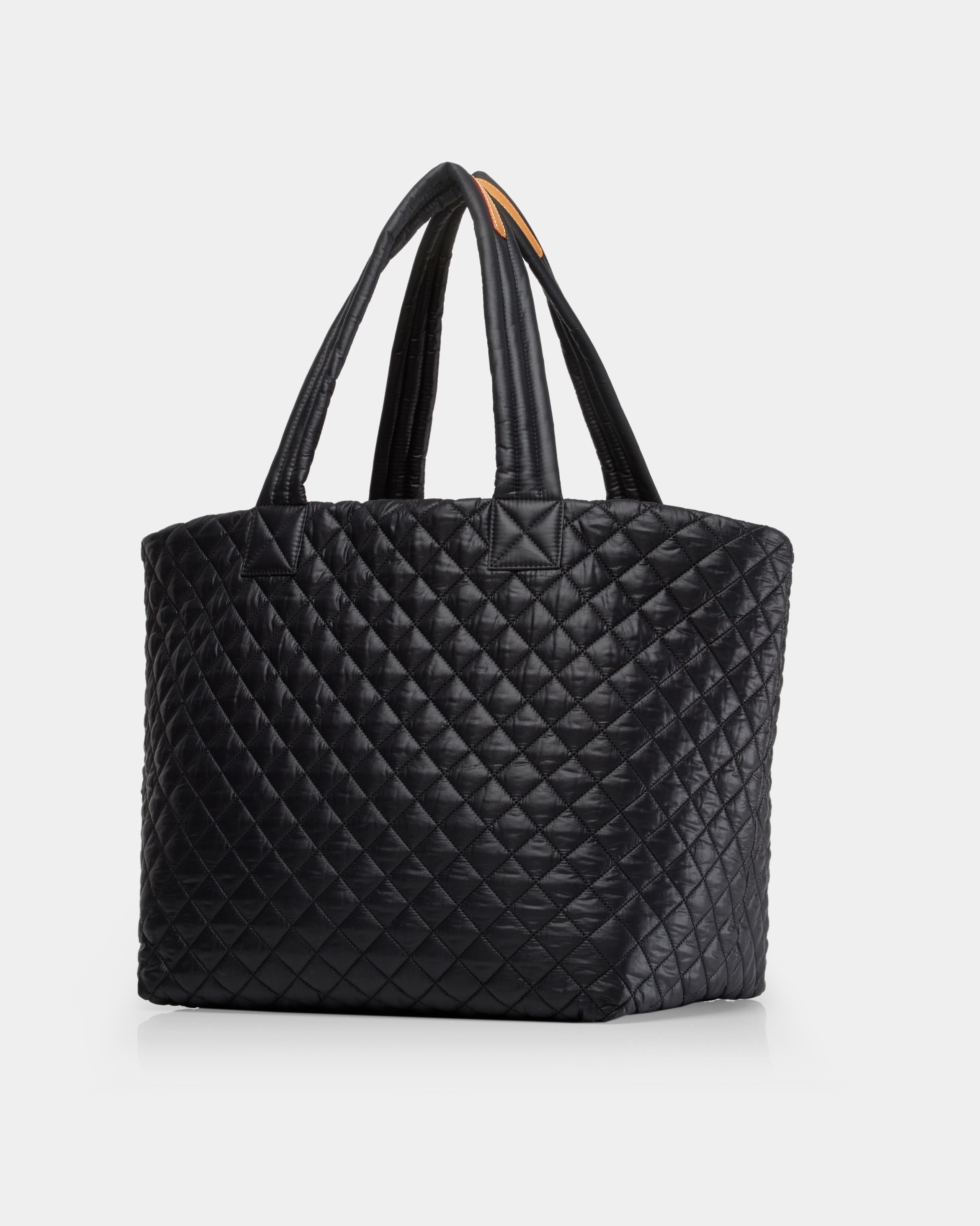 Large Metro Tote - Black Quilted Oxford Nylon (3710108) in color Black