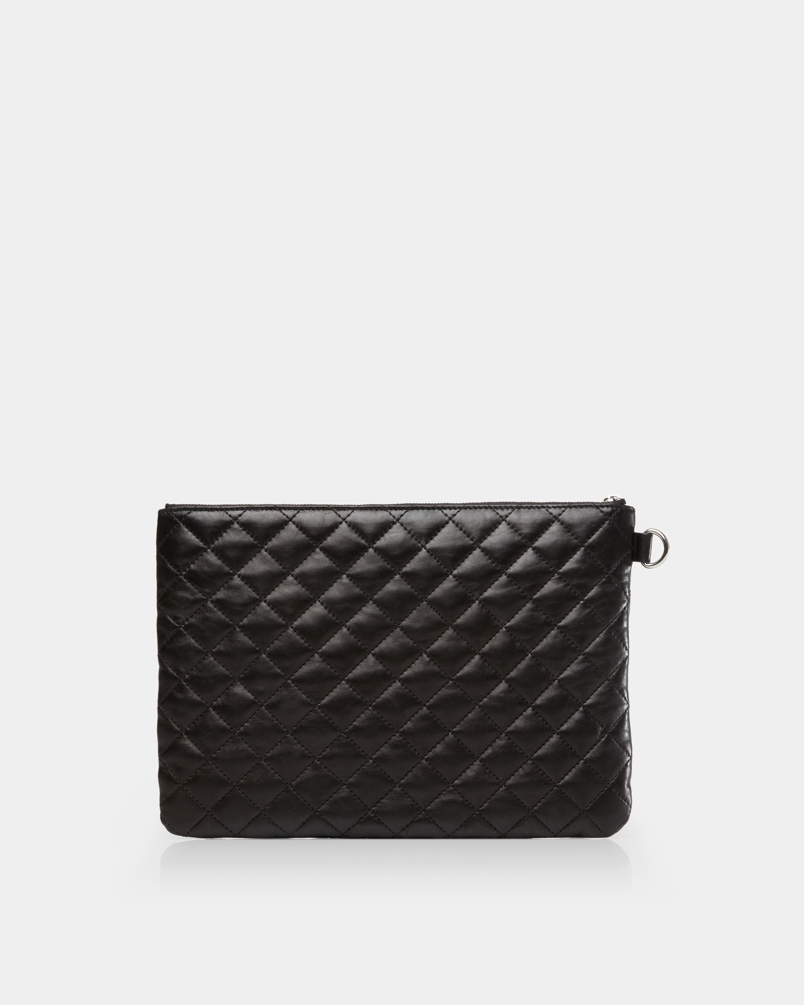 Metro Pouch - Black Quilted Leather (5351153) in color Black Leather