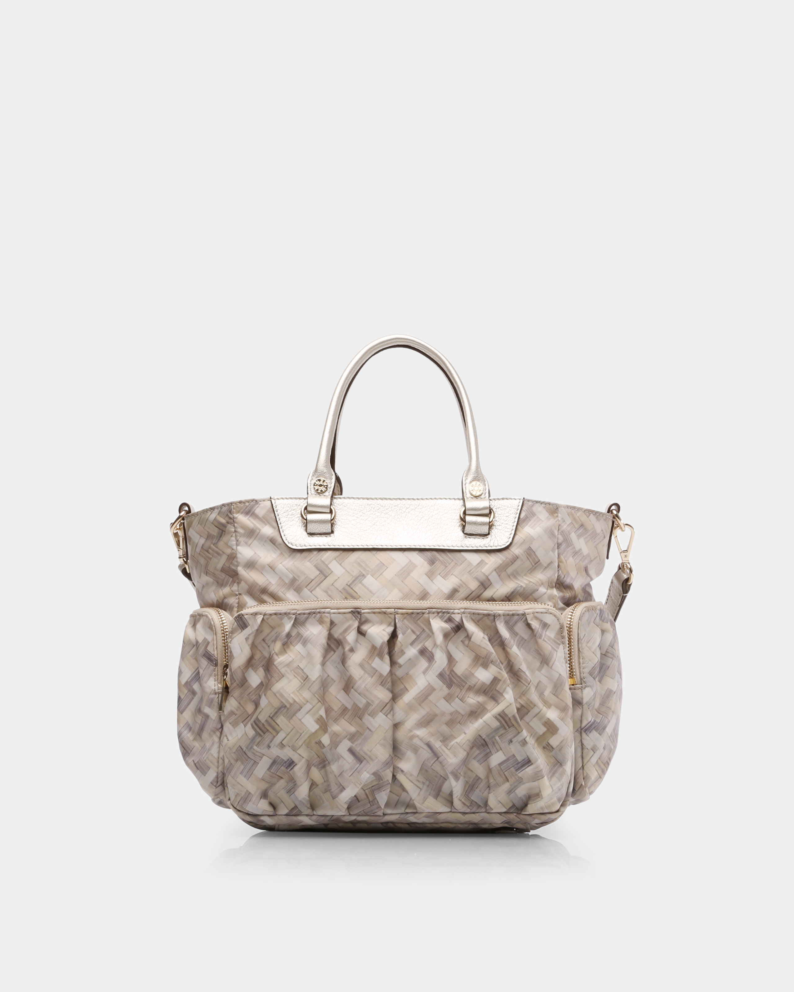 Basket Weave Bedford Small Abbey Tote (5921374) in color Basket Weave
