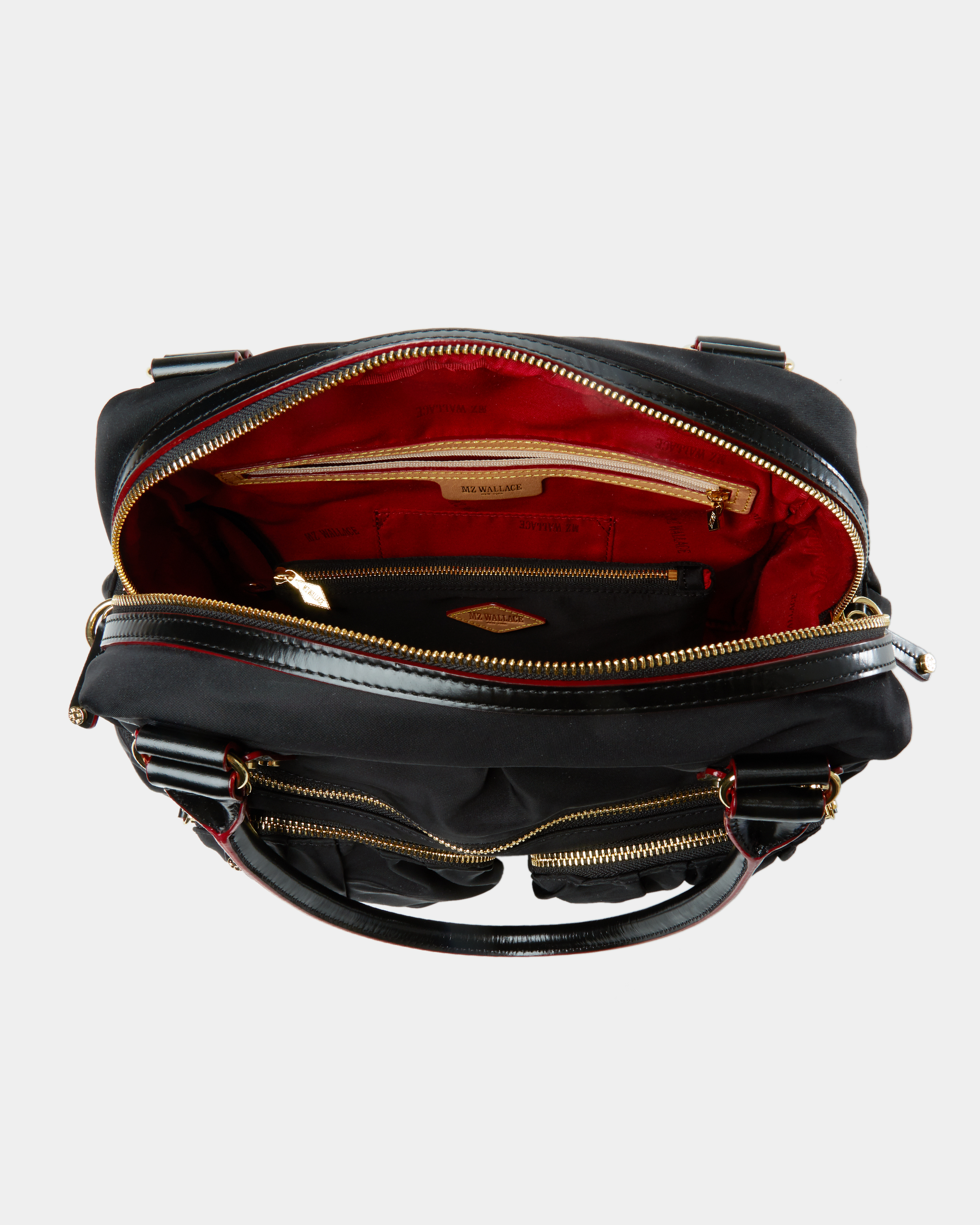 Frankie Travel Bag - Black Bedford (3030089) in color Black