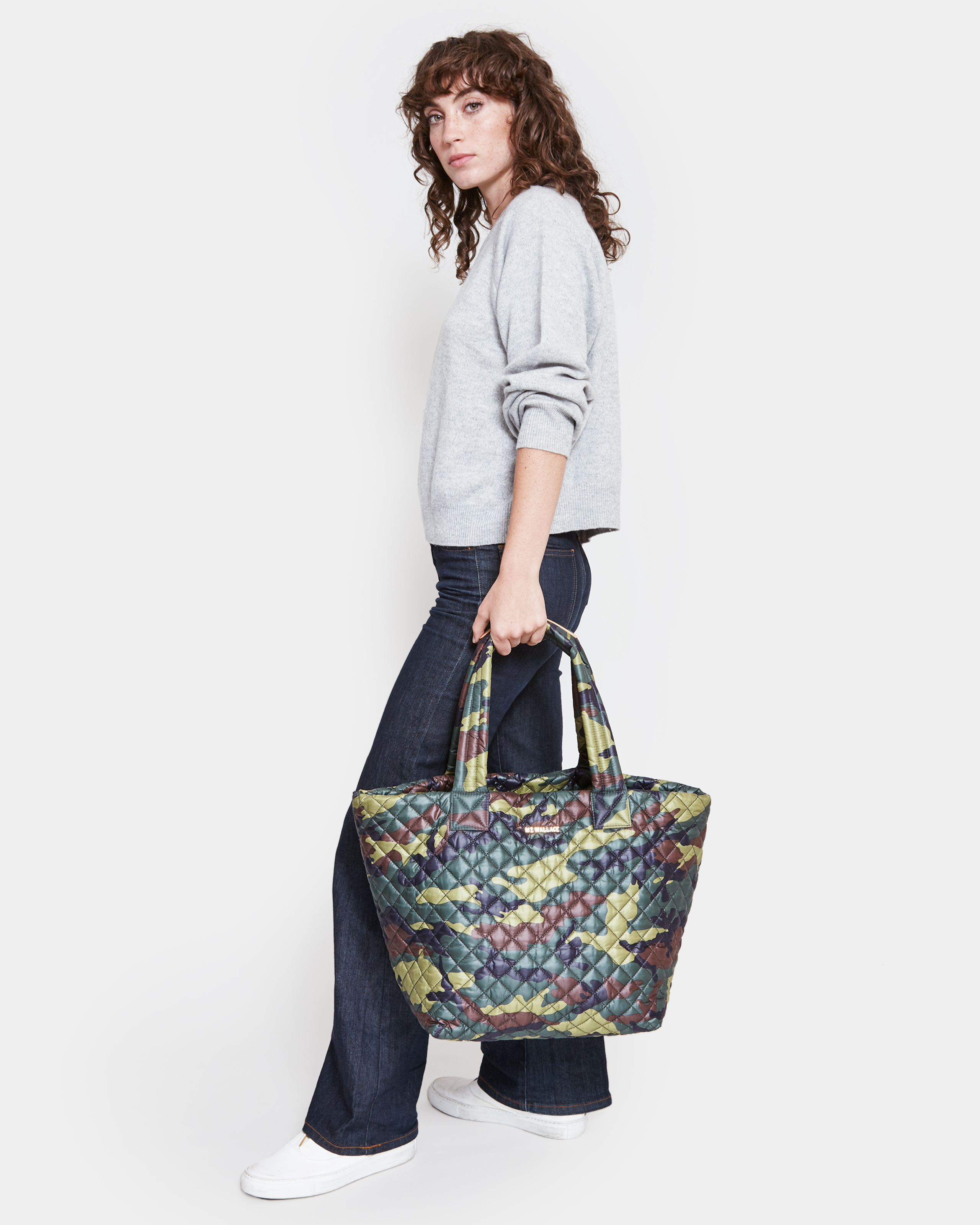 Medium Metro Tote - Camo Oxford (3760265) in color Camo